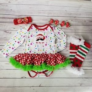 BabyGirl Christmas Outfit